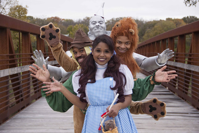 The Wonderful Wizard of Oz Group Cosplay
