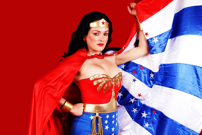 Classic Wonder Woman Cosplay