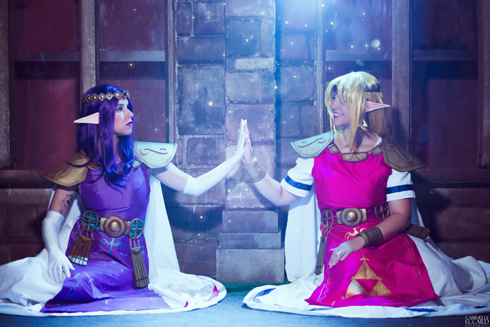 Zelda & Hilda Cosplay