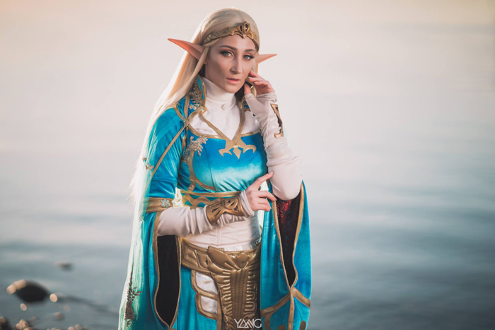 Zelda from Breath of the Wild Cosplay