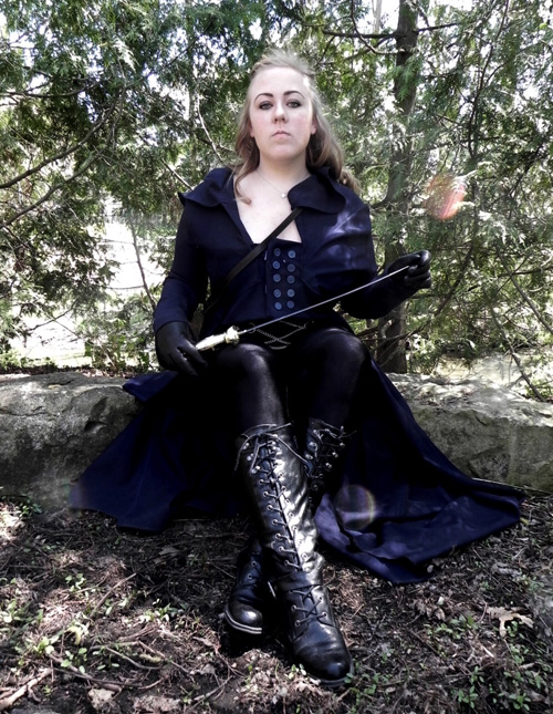 Elizabeth Bennet from Pride and Prejudice and Zombies Cosplay
