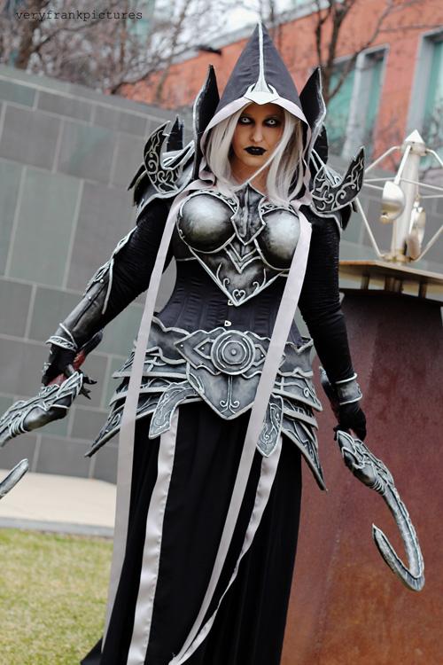 Genderbent Malthael from Diablo Cosplay