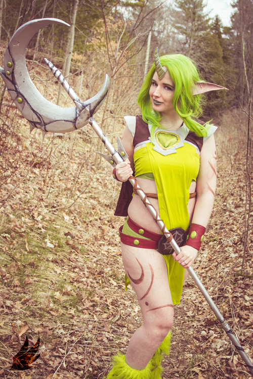 Dryad Soraka from League of Legends Cosplay