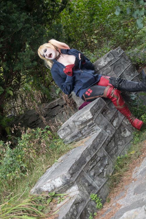 Harley Quinn Outtake Derps