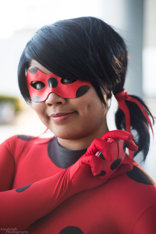 Ladybug and Chat Noir from Miraculous Ladybug Cosplay
