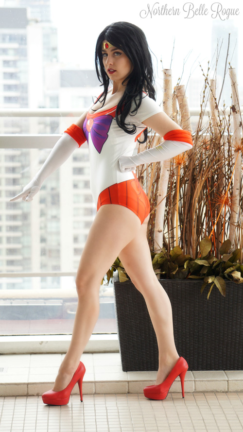 Sailor Mars Swimsuit Photoshoot