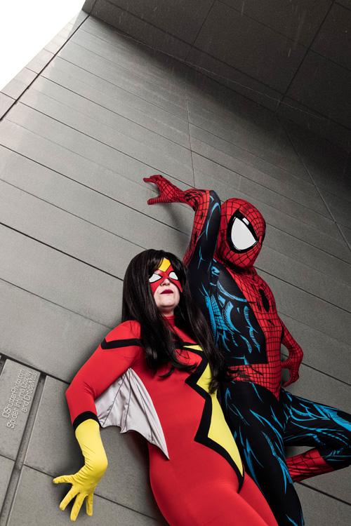 Spider-Woman & Spider-Man Cosplay