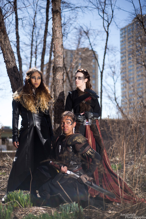 The 100 Group Cosplay
