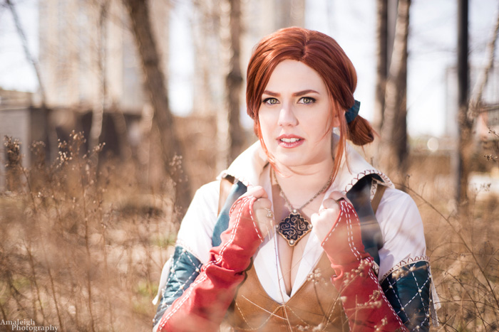 Triss from The Witcher Cosplay