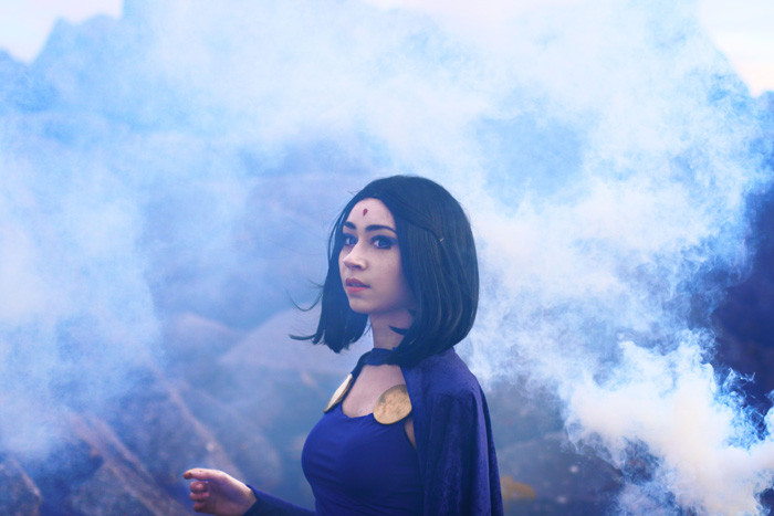 Raven from DC Comics Cosplay
