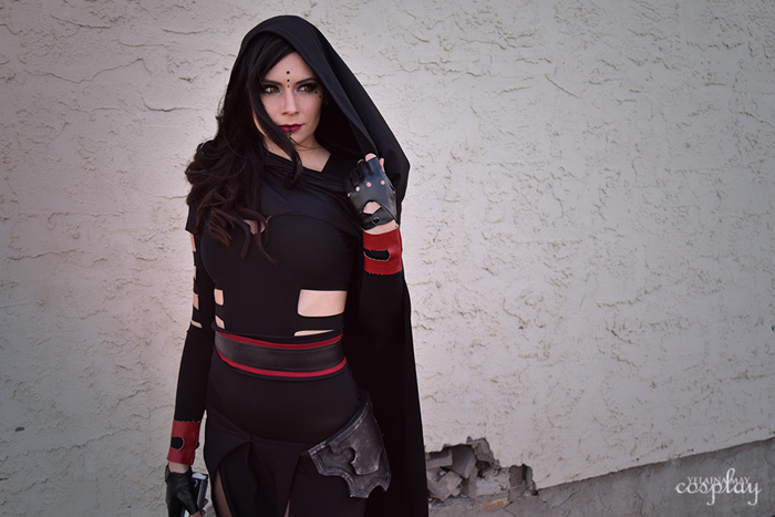 Custom Sith from Star Wars Cosplay