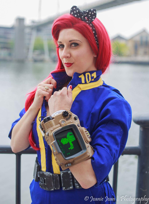 Pinup Vault Dweller from Fallout Cosplay