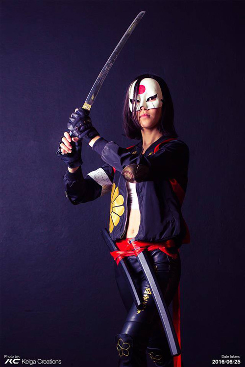 Katana from Suicide Squad Cosplay