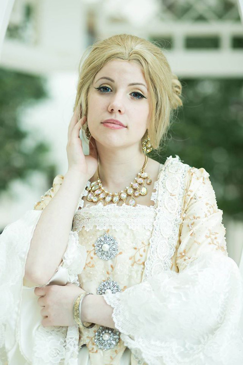 Madame de Pompadour from Doctor Who Cosplay