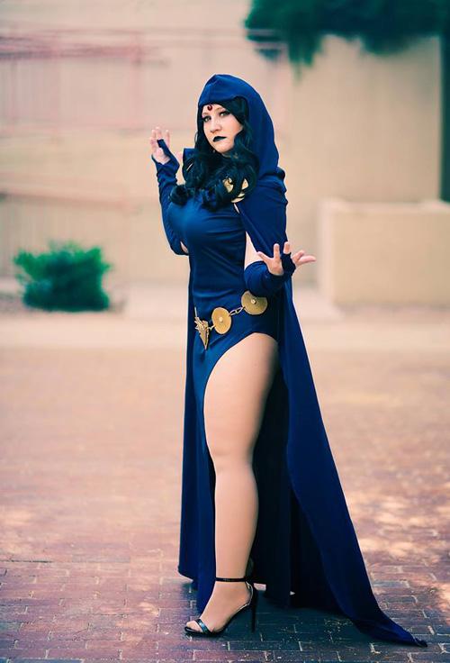 Raven - Teen Titans by Kinpatsu-Cosplay on DeviantArt