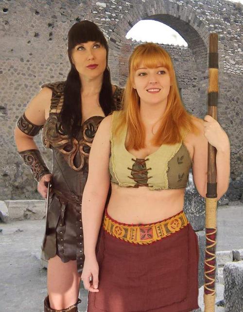 Xena & Gabrielle Cosplay