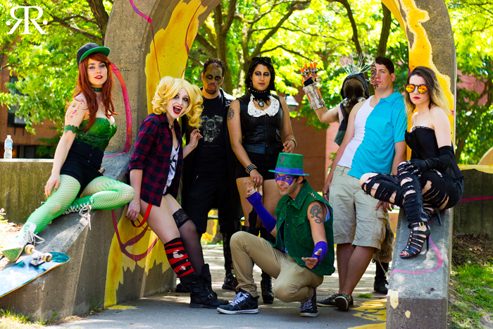 Gotham Rogue Punks Group Cosplay