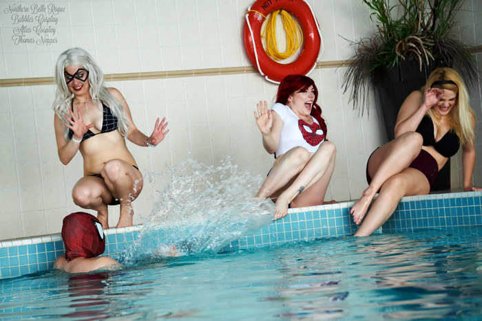 Women of Spider-Man Swimsuits