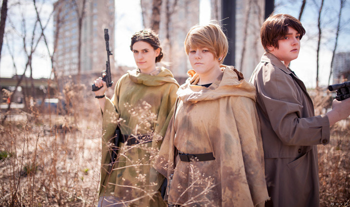 Star Wars: Return of the Jedi Group Cosplay