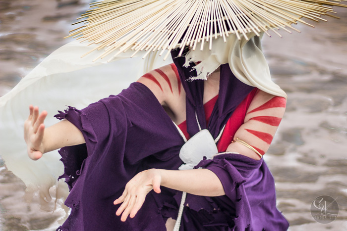 The Painted Lady from Avatar: The Last Airbender Cosplay