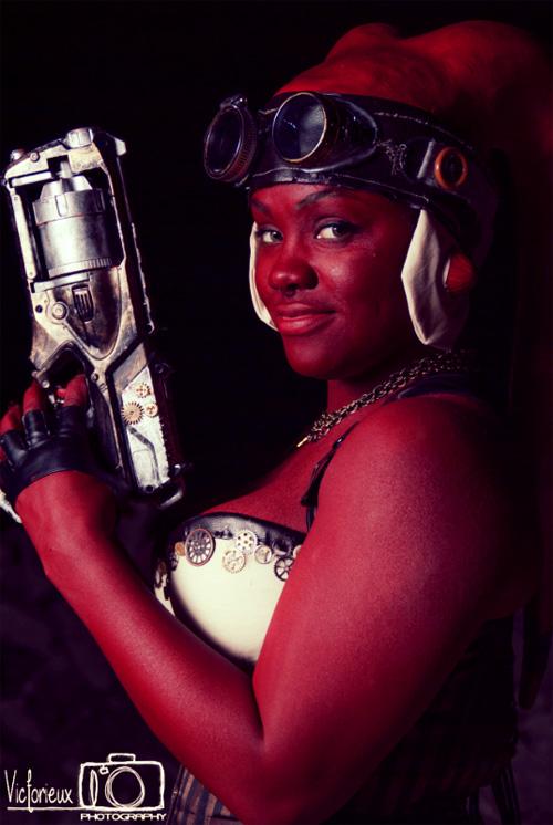 Steampunk Twilek from Star Wars Cosplay