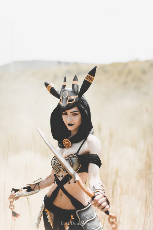 Umbreon Gijinka From Pokemon Cosplay