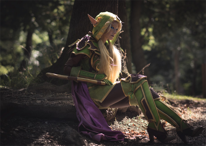 Alleria Windrunner from Hearthstone: Heroes of Warcraft Cosplay