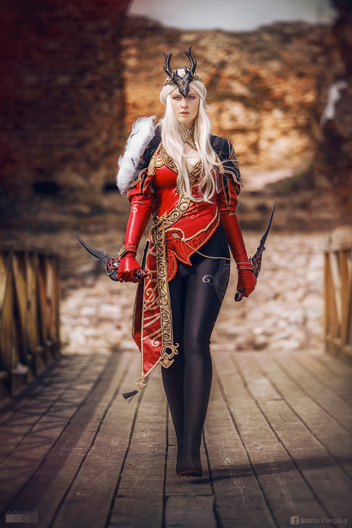 Elyos Scout from Aion Cosplay