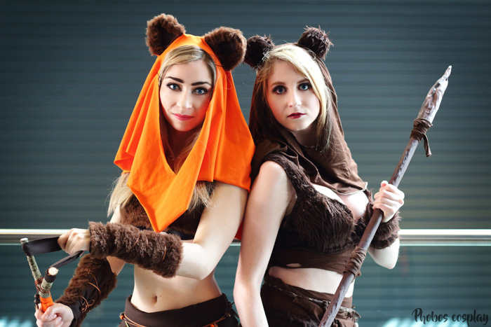 Ewoks from Star Wars Cosplay