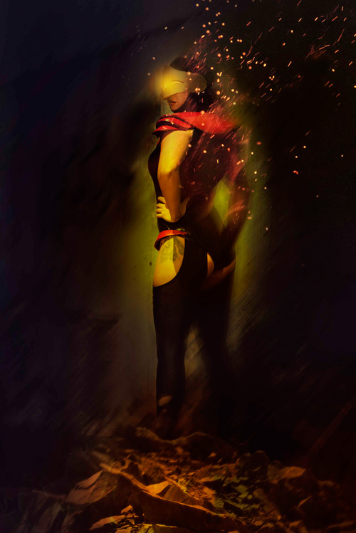 Phoenix Force Cyclops Cosplay