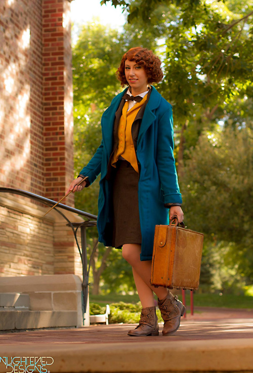 Newt from Fantastic Beasts and Where to Find Them Cosplay