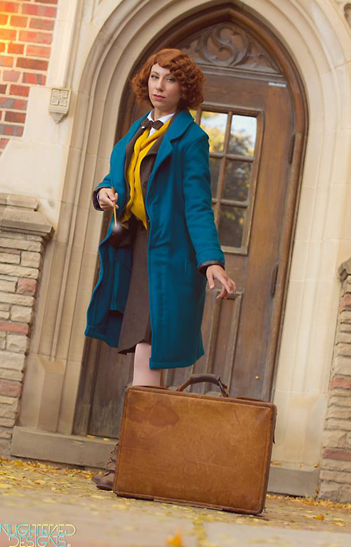 Newt from Fantastic Be...