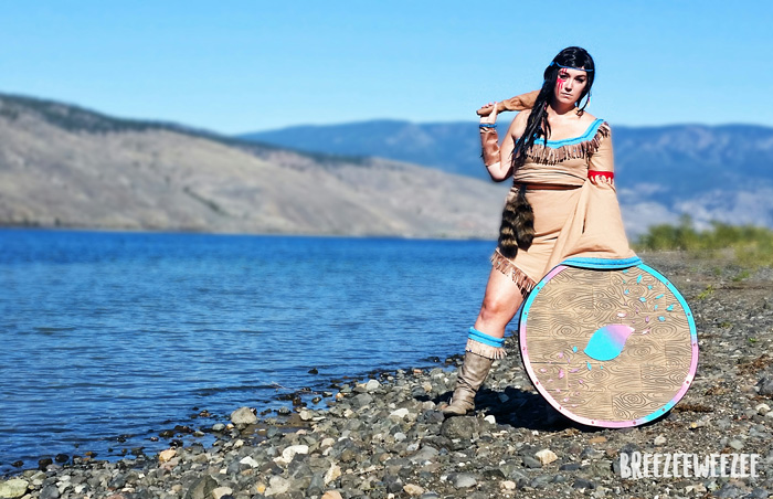 Viking Pocahontas Cosplay