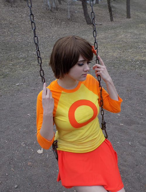 Chie from Lcd Dem Cosplay
