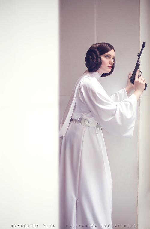 Princess Leia & Commander Riker Cosplay