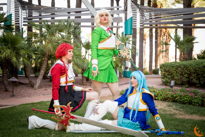 Magic Knight Rayearth Group Cosplay