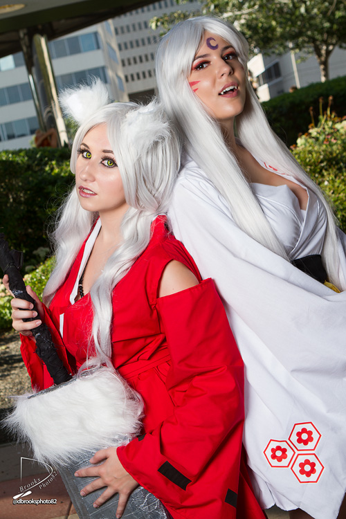 Genderbent Inuyasha and Sesshomaru Cosplay
