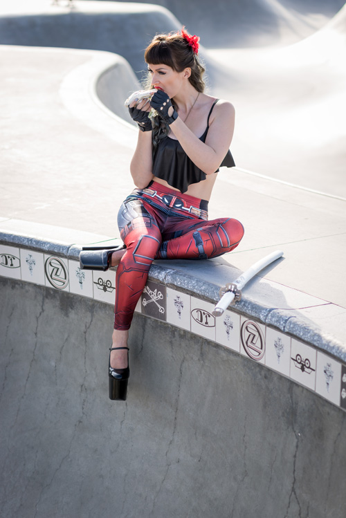 Deadpool Fashion Photoshoot
