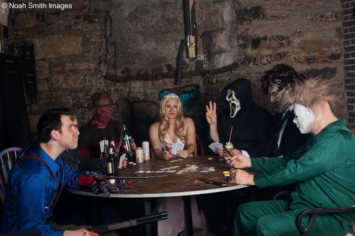 Horror Poker Photoshoot