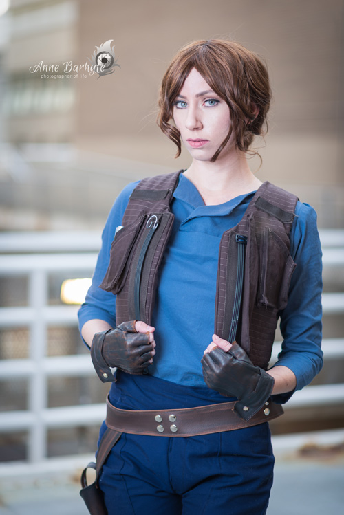 Jyn Erso from Rogue One: A Star Wars Story Cosplay