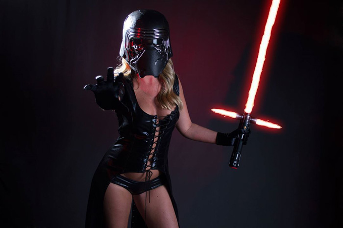Star wars cosplay women
