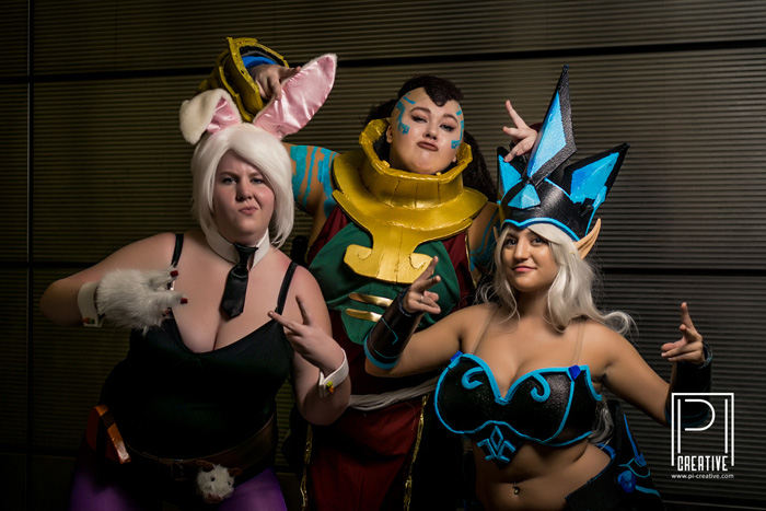 League of Legends Group Cosplay