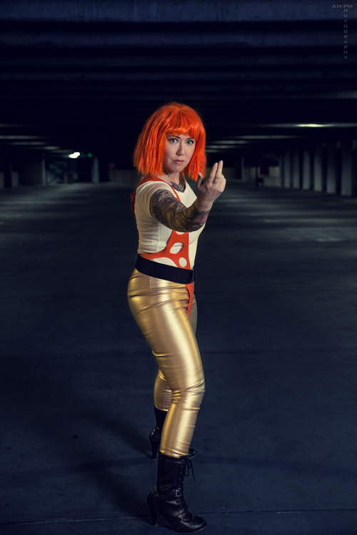 Leeloo Dallas from Fifth Element Cosplay