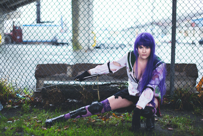 Saeko Busujima from High School of the Dead Cosplay