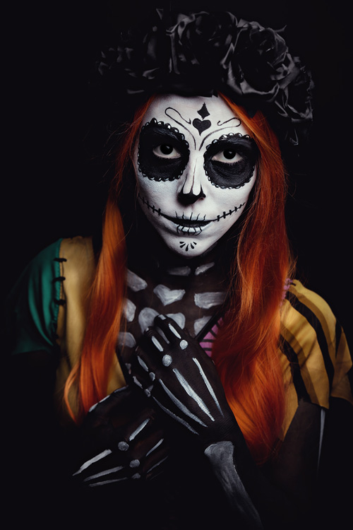 Sugar Skull Sally Cosplay