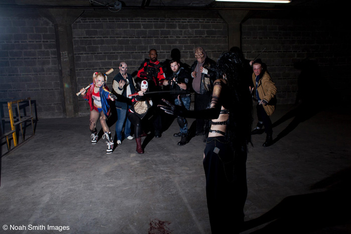 Suicide Squad Group Cosplay
