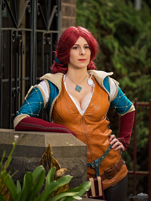 Triss Merigold from The Witcher 3: Wild Hunt Cosplay