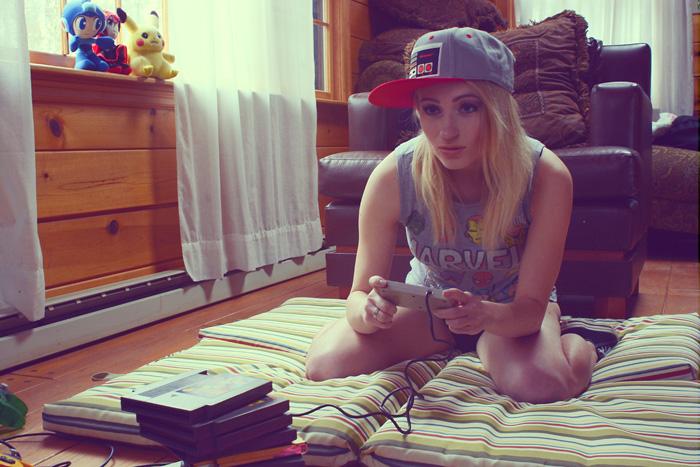 Gamer Girl Photoshoot