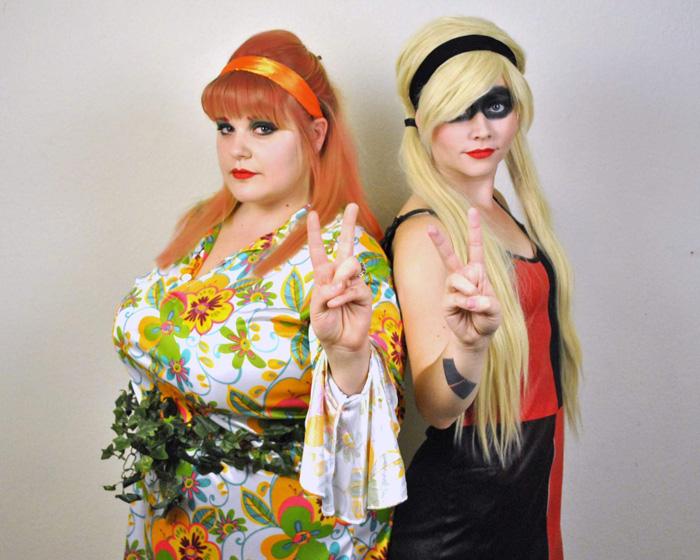 Go-Go Harley Quinn & Poison Ivy Cosplay