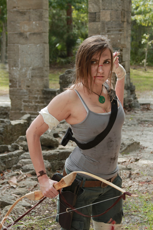 Lara Croft from Tomb Raider Cosplay